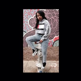 shirt trillfiger gray hoodie jordans shoes