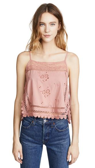 blouse garden party rose top