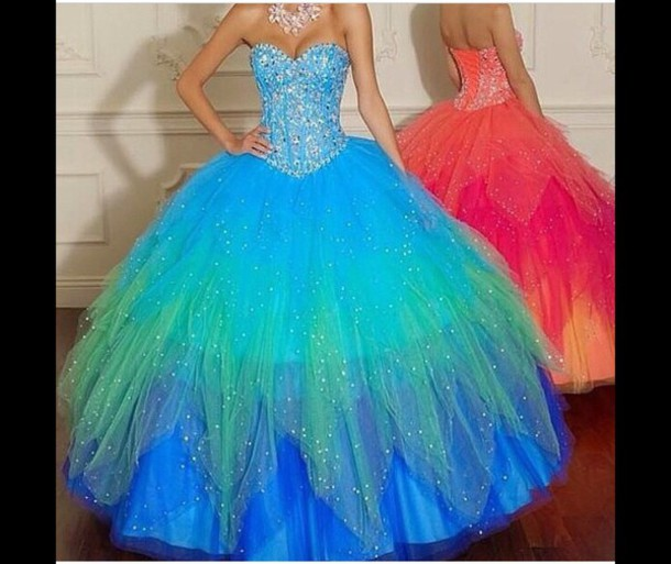 dress blue dress pink dress purple dress green dress orange dress