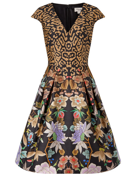 Temperley London dress black