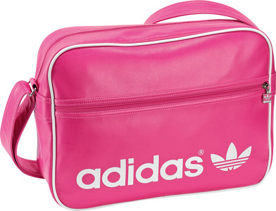 adidas adicolor airliner bag pink white. Black Bedroom Furniture Sets. Home Design Ideas