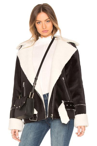 BLANKNYC jacket white black