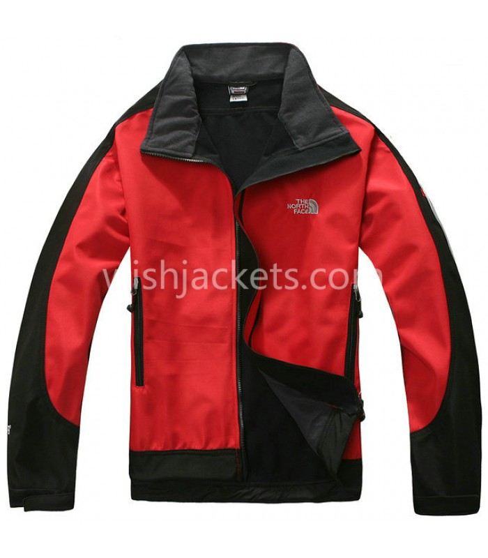 Red Mens Windstopper Jacket North Face Bj130038