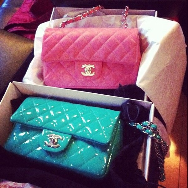 bag candy color chanel