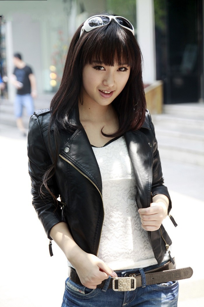 2014 New Fashion Details Vintage Womens Jacket Coat Slim Biker Motorcycle PU Soft Zipper Ladies Leather Jaquetas De Couro-in Leather & Suede from Apparel & Accessories on Aliexpress.com