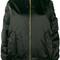 Balenciaga - le bomber bomber jacket - women - polyamide/polyester/cupro - 36, black, polyamide/polyester/cupro