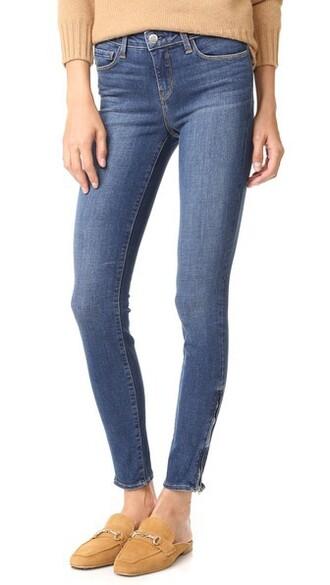 jeans vintage zip dark