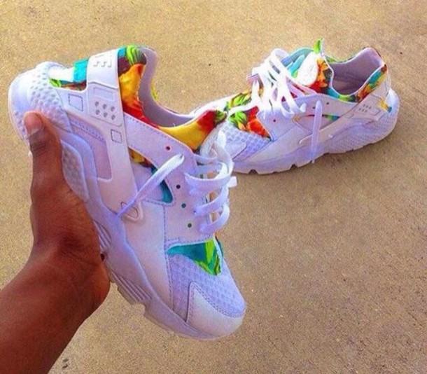 shoes, huarache, nike air, nike, white