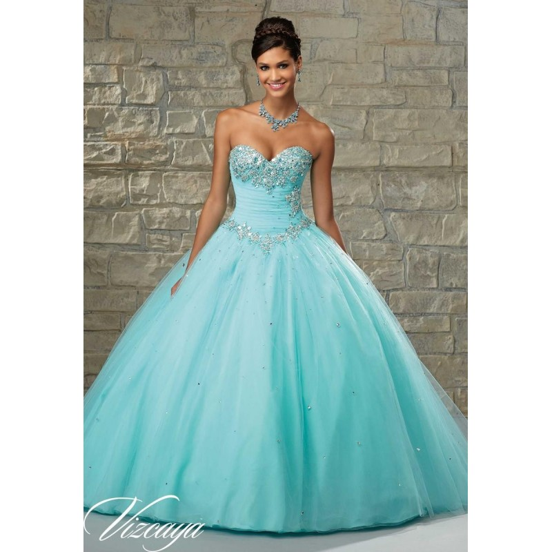 Aqua Vizcaya by Mori Lee 89028 - Brand Wedding Store Online