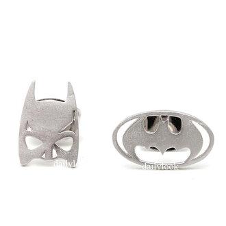 jewels batman earrings batman jewelry man studs man earrings batman studs unique earrings halloween jewelry