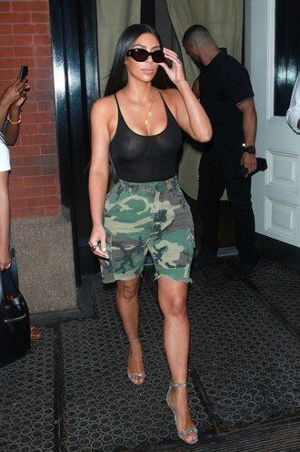 Kim Kardashian Pants July 2017