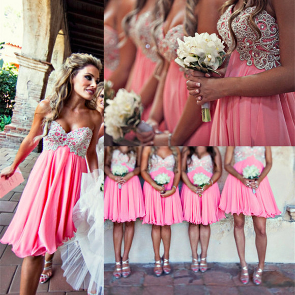dress short sweetheart neckline beautiful bodice