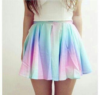 skirt rainbow skirt rainbow