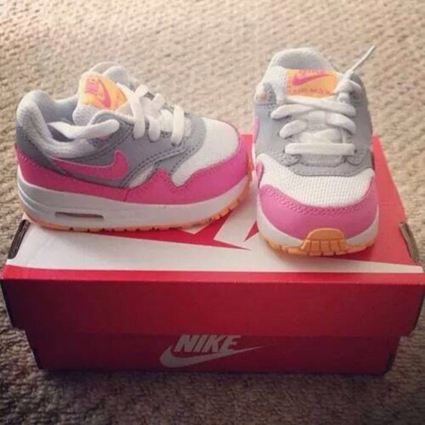 shoes nike baby nike baby blue and pink