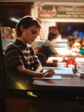 indie,hipster,emma watson,perks of being a wallflower,short sleeve,sweater