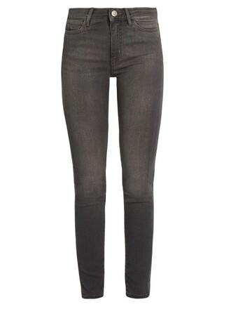 jeans denim high grey
