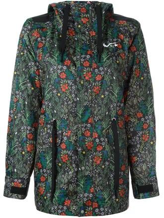 jacket floral jacket floral black