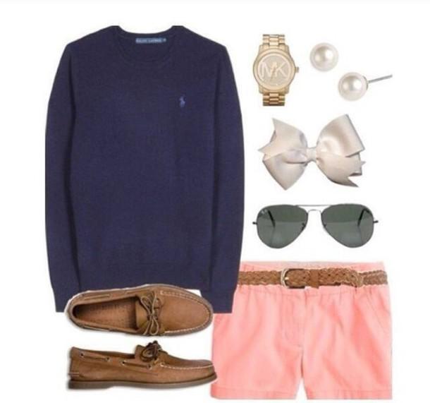 shorts preppy