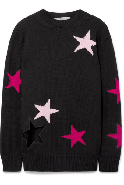 Givenchy sweater wool sweater black wool