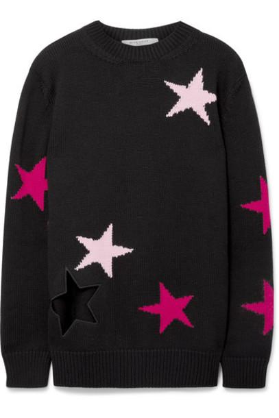 sweater wool sweater black wool