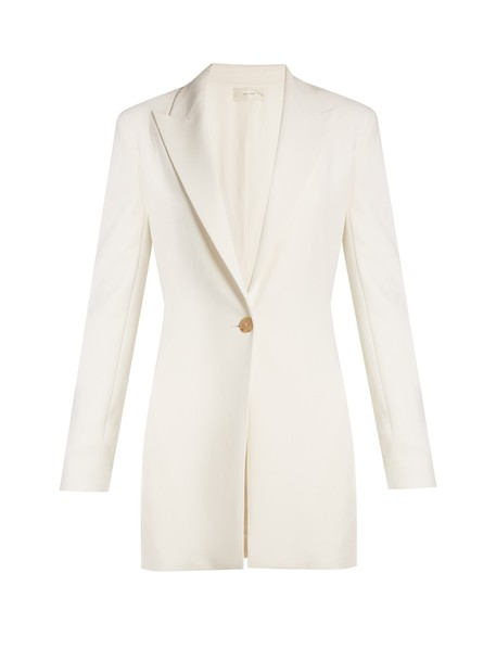 blazer cream jacket