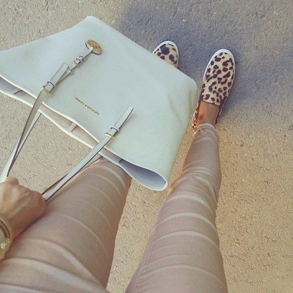 shoes leopard print pants leggins+ bag