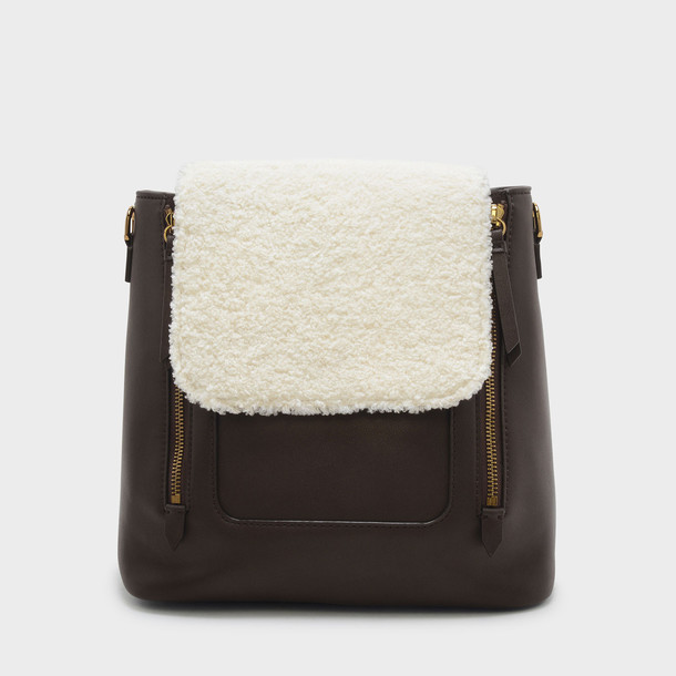 bag shoulder bag brown