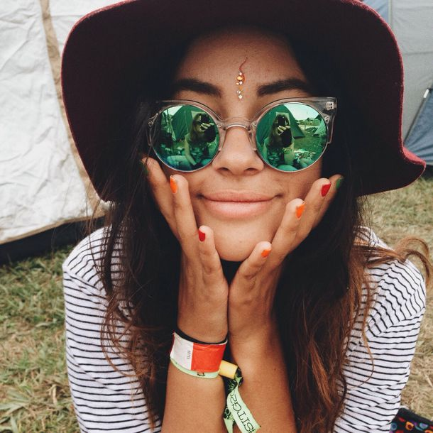 sunglasses hippie music festival hot jewels round green blue big shaped clear lens clear frame green lenses half frame sunglasses