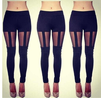 pants leggings garter leggings