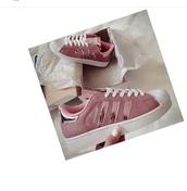 shoes,rose gold,adidas superstars,adidas shoes,adidas originals,pink,metallic,glitter,adidas superstar rosegold