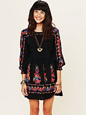 Age of Aquarius Print Dress style pic by luna47 at Free People