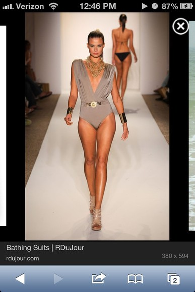 runway swimwear cute