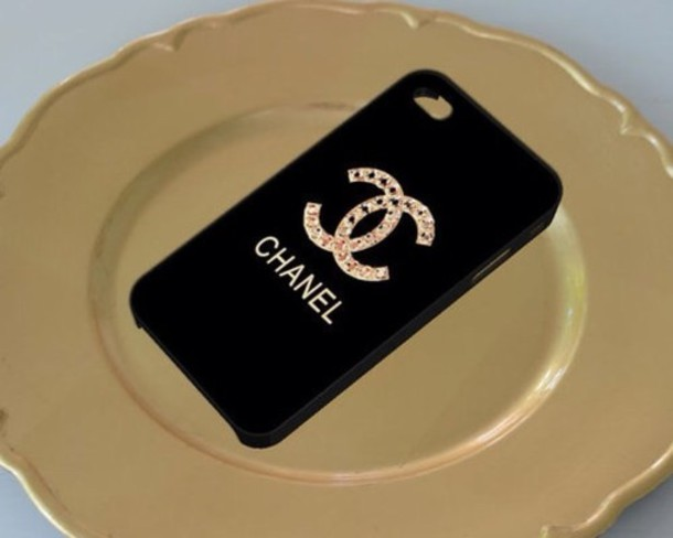 Jewels: chanel, iphone cover, iphone 5 case ...