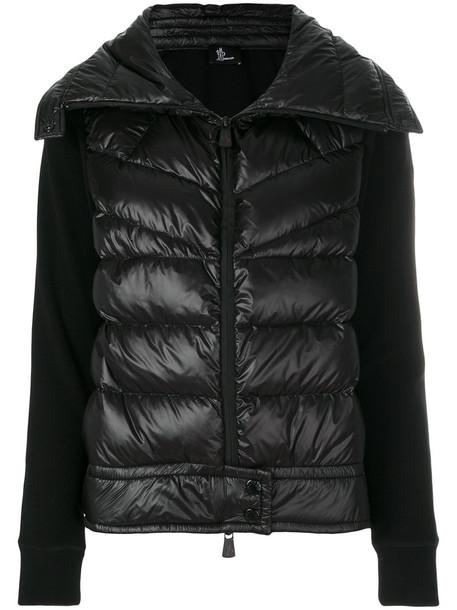 MONCLER GRENOBLE jacket women spandex black