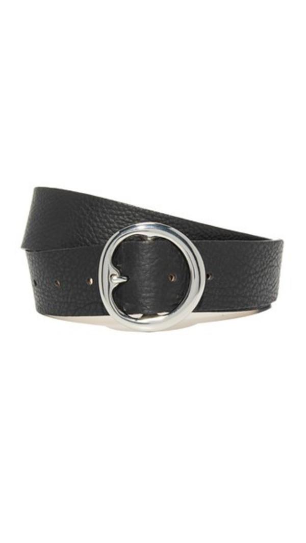 B-Low The Belt Baby Bell Bottom Belt in black / silver