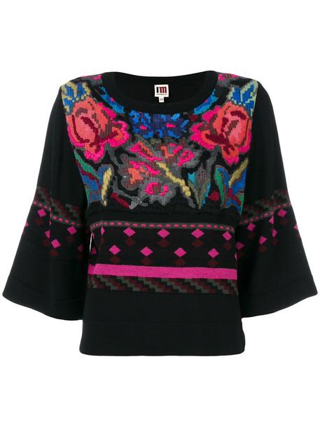 I'M ISOLA MARRAS jumper women floral wool sweater