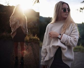 lookbook white casual jumper