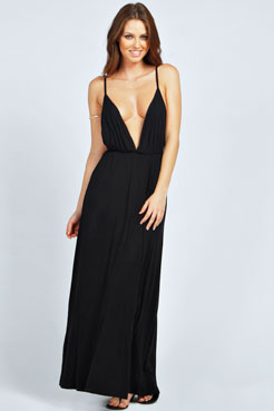 Kate Strappy Back Maxi Dress at boohoo.com