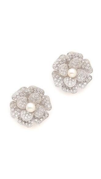 clear earrings jewels