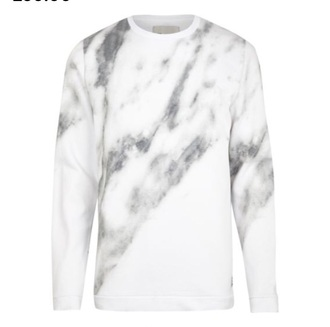 white sweater marble