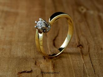 jewels impressimo engagement ring pierscionek zareczynowy