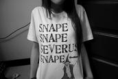 shirt,harry potter,severus,snape,hogwarts,dumbledor tattoo shirt,magic,dreams