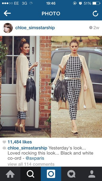 coat chloe sims from towie