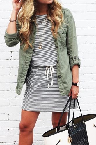 jacket green jacket cargo jacket cargolook long sleeves button jacket shirt plaid shirt