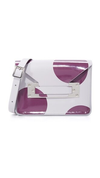 mini light bag grey plum