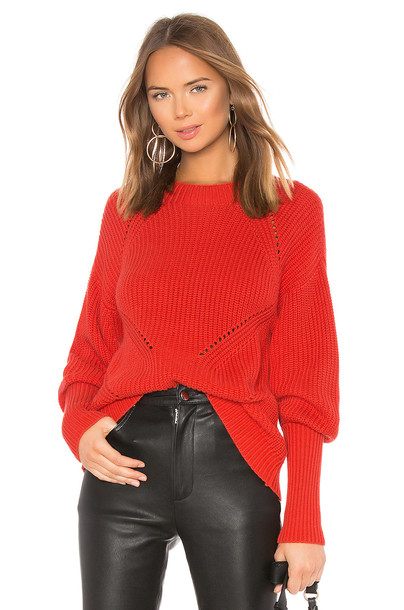 Joie Landyn Sweater in red