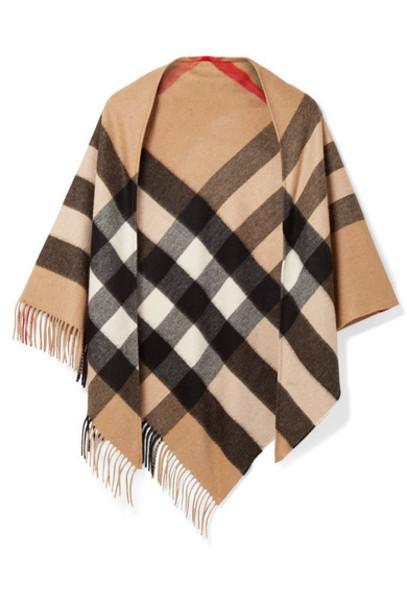 Burberry scarf camel