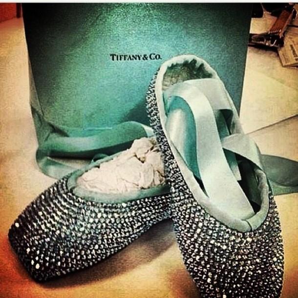 shoes tiffany&co diamonds bow flats