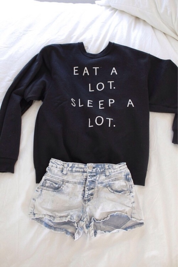 sweater black quote on it quote on it shirt eat sleep hipster top cute jumper shorts a lot eat sleep wear sleeping alott blouse black sweater eat a lot sleep a lot eat alot sleep alot writing quote on it winter sweater oversized sweater white sweatshirt navy crewneck lazy day sweater gray hoodie white letters and perfection High waisted shorts jumper black jumper sweater black and white sweatshirt denim funny eat sleep trendy cute sweaters jacket soft grunge pastel goth eat a lot sleep a lot crewneck warm help me find this shirt plz! eat a lot sleep a lot High waisted shorts t-shirt tumblr quote on it freshtops sweater weather teenagers teenagers cool girl style cool 90s style grunge print crewneck sweater hipsyer sweater weather eat a lot. sleep a lot. money or nah fall outfits fall outfits seasons me ong t-shirt denim shorts clothes back long sleeves food lazy day outfit pullover fashion dark navy/black small oversized tumblr sweater girl prom dress messy more wedding dress life wedding dress girly life's a beach lovely pepa cute things black and white tumblr outfit tumblr shirt sweter sweater lot tendy fashion style eat.sleep.read graphic tee quote on it pale peri.marie need this ! bag black top jeans earphones skirt black        teestarsusa black sweater print winter outfits sweater with saying dark blue short summer nice funny funny sweater in the uk please