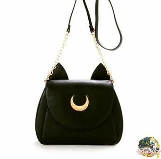 bag sailor moon black bag
